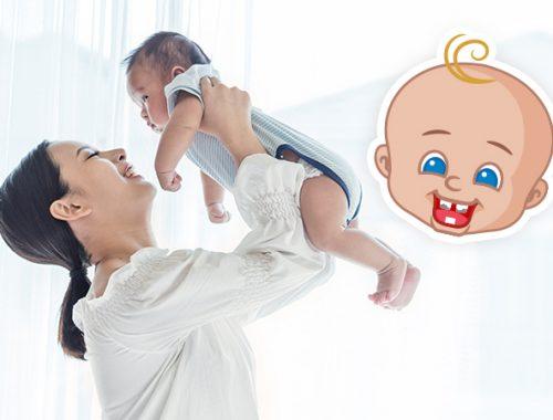 Immagine bambino con carie
