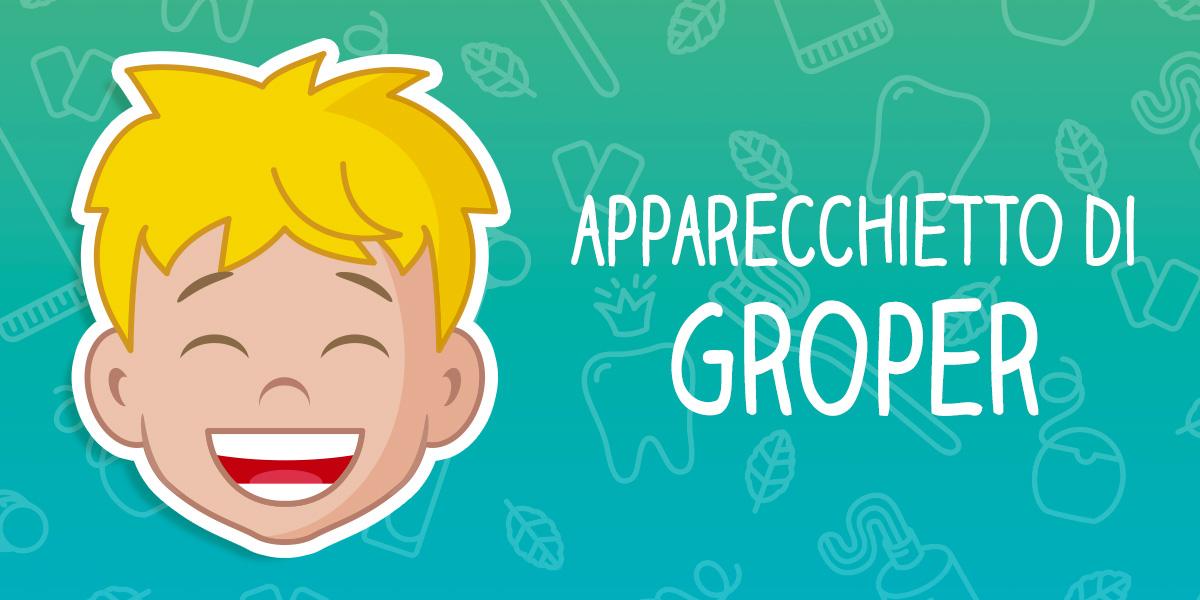 Apparecchio di Groper - Denti Frontali rotti